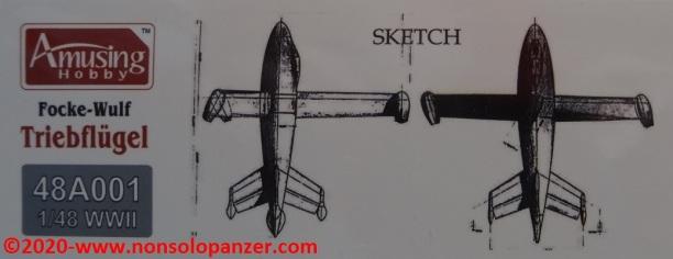 06 Focke-Wulf Triebflugel Amusing Hobby