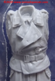 07 WSS Panzer Commander - Evolution Miniatures