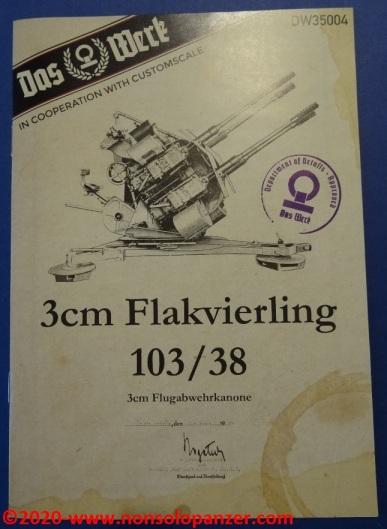 24 Flakvierling 103-38 Das Werck