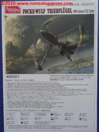 29 Focke-Wulf Triebflugel Amusing Hobby