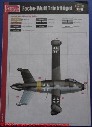 33 Focke-Wulf Triebflugel Amusing Hobby