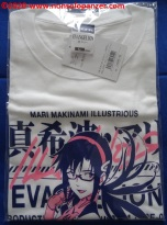 01 Mari Makinami Illustrious T-Shirt Cospa