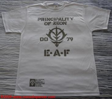 07 Principality of Zeon EAF - T-Shirt Cospa