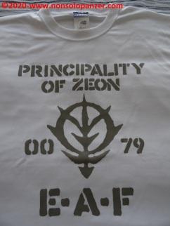 08 Principality of Zeon EAF - T-Shirt Cospa