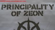 14 Principality of Zeon EAF - T-Shirt Cospa