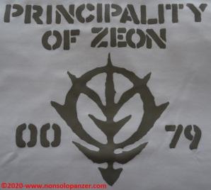 17 Principality of Zeon EAF - T-Shirt Cospa