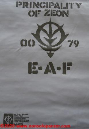 19 Principality of Zeon EAF - T-Shirt Cospa