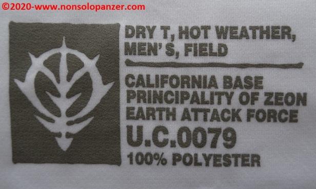 20 Principality of Zeon EAF - T-Shirt Cospa