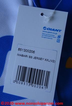 08 Shimanami Kaido Sport Jersey - Imabari Giant